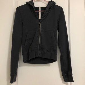 Lululemon dark blue hoodie, size 4